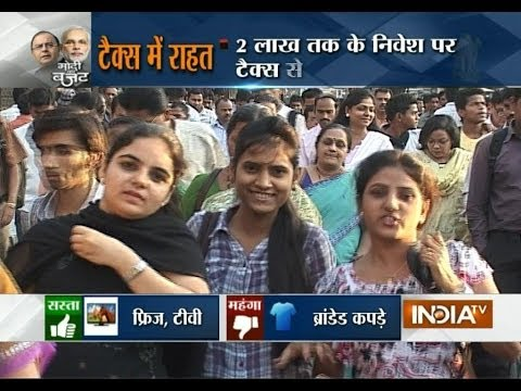 Union Budget 2014 live on India TV,  Part 1