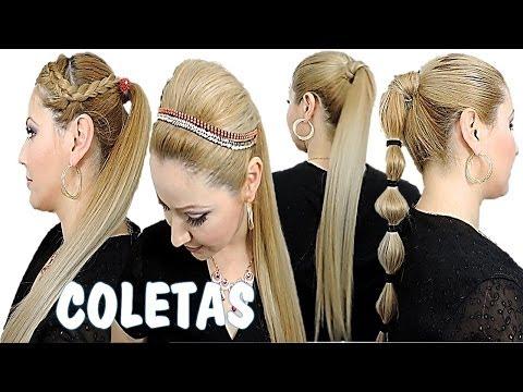 Peinados lindas Coletas para toda ocacion Back-to-School Ponytail Hairstyles