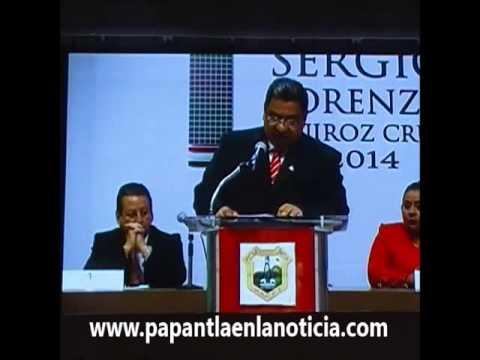Primer Informe de Gobierno por Sergio Lorenzo Quiroz Cruz alcalde de Poza Rica