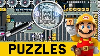 DETECTIVE Z: Puzzle Muy Dificil de un 1% !   Super Mario Maker en Español   Zeta SSJ