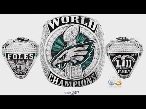 Philadelphia Eagles Receive Their Super Bowl Rings