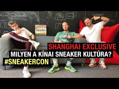 SHANGHAI EXCLUSIVE - MILYEN A KÍNAI SNEAKER KULTÚRA? #SNEAKERCON