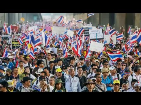 Thailand Protest 2013