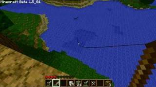 MInecraft: A flying squid