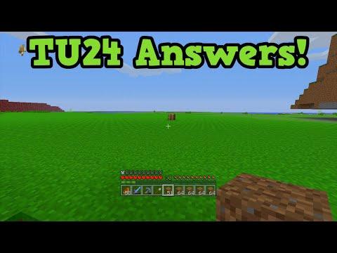 Minecraft Xbox 360 + PS3 TU24 - Mutton, Weather Options (QnA)