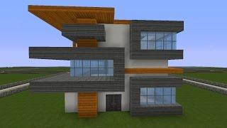 Grosses Modernes Minecraft Haus Bauen Tutorial German 2017