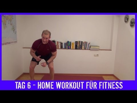 WORKOUT - 6 - TRAINING - Bauch Beine Po Training Für Zuhause - KARL-ESS.COM