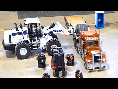 "LOADING KINGS - ""HIGHWAY ROBBERY"" - WORLDS ONLY RC TRUCKING & WAREHOUSE GAME SHOW"