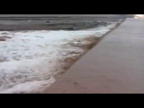 Habilitaron el tránsito en la ruta 40 en Malargüe tras una serie de aluviones