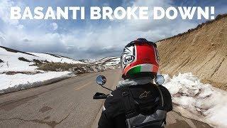 [Eps. 62] BASANTI BROKE DOWN - Royal Enfield Himalayan BS4 - Riding Iran