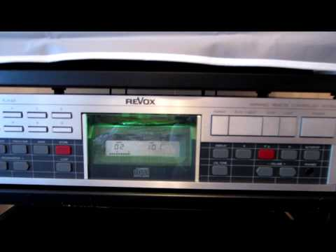ReVox B285 Receiver & ReVox B225 CD Player
