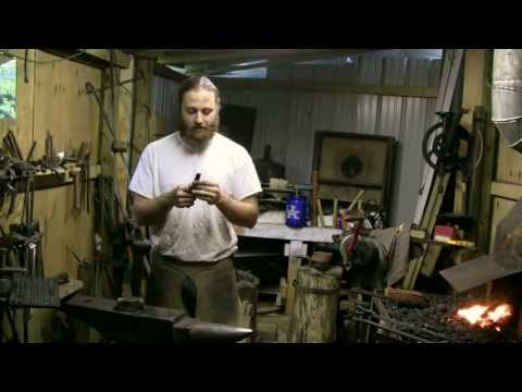 Railroad Spike Hatchet / Tomahawk Demo