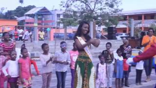 Gabon - Maggaly Ornellia Nguema [OFFICIAL MISS UNIVERSE INTERVIEW]