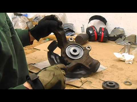 2003 Altima Front Wheel Bearing Replacement Part 3