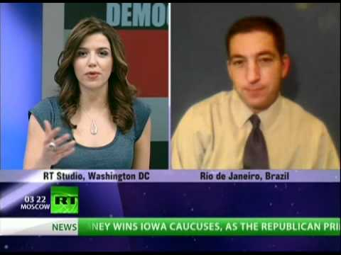 Greenwald: 'US can only suppress democracy for so long'