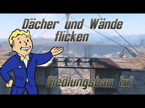 Fallout 4 Guide: Dächer und Wände reparieren - Siedlungsbau 1x1