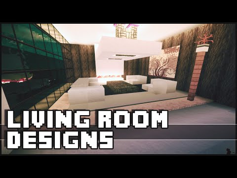 Design master class sally williams for Living room ideas in minecraft