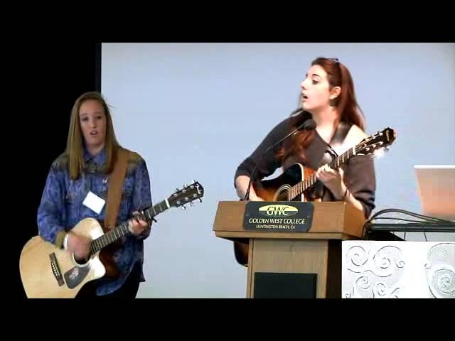 Krista Winburn Imagine - 2013 Golden West College Peace Conference