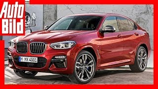 BMW X4 (2018) Erste Sitzprobe/Details/Erklärung