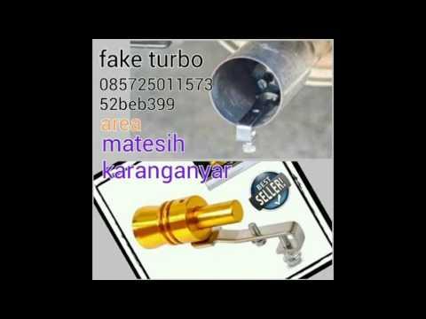 Fake turbo / turbo flute / turbo palsu