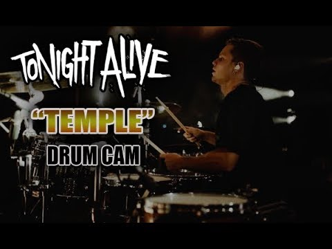 Tonight Alive | Temple | Drum Cam (LIVE) thumbnail