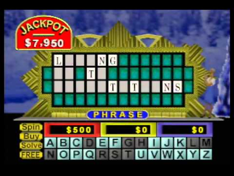 0 Lets Play Wheel of Fortune