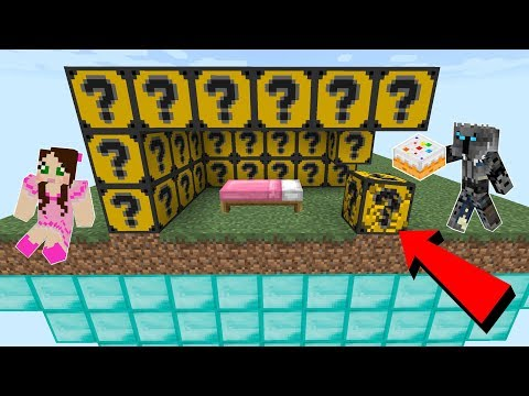 Minecraft: CAKE LUCKY BLOCK BEDWARS! - Modded Mini-Game