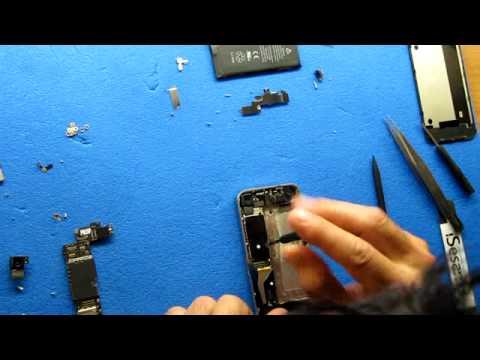 Apple Iphone 4 vetro rotto. come montare vetro ed LCD