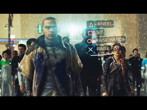 DETROIT BECOME HUMAN - ALL Gameplay So Far! (PS4 2018) Detroit Become Human Gameplay Trailers