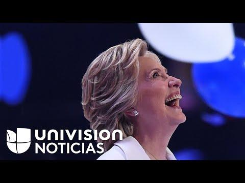 Hillary Clinton, la primera mujer candidata a la presidencia de Estados Unidos