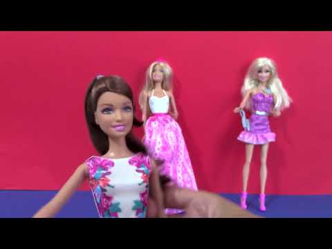 Barbie Muñecas - 3 Juguetes de Barbie - Videos de Barbie Juguetes - Nuevo 2014