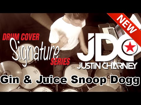Gin and Juice Snoop Dogg  (Live Drums)
