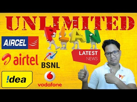 Unlimited FREE Plans Latest Telecom News Of Jio,Aircel,Airtel,Idea,Vodafone,BSNL | Data Dock
