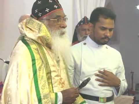 Mar Thoma Syrian Church Holy Qurbana By H.g Joseph Marthoma Part1 video