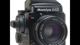 Mamiya 645 Pro: Flash Photography Part 1: Equipment.