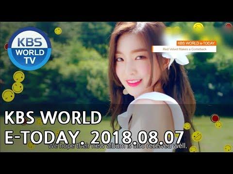 KBS WORLD e-TODAY [ENG/2018.08.07]
