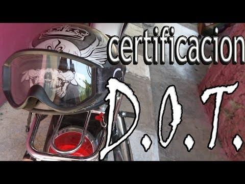 Que es la certificacion DOT