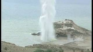 Amazing Underwater Explosion from world war 2 german bombs in heraklion krete - Waters 40 m high
