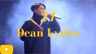 March K-Lyrics Month || Dean - 21 {Day 30}