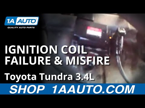 2001 Toyota Tundra 3.4L 3400 Ignition Coil Failure and Misfire