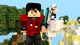 MINECRAFT SKYWARS-Lycke a bus (con Core Fall)