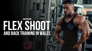 Jamie Do Rego - Flex cover shoot & chest day in Wales