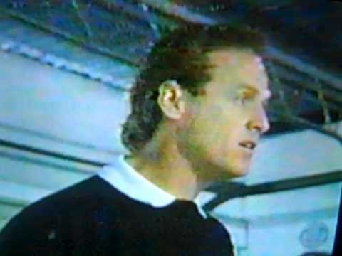 Rusty Wallace talking to the drivers' meeting before 1994 Daytona 500