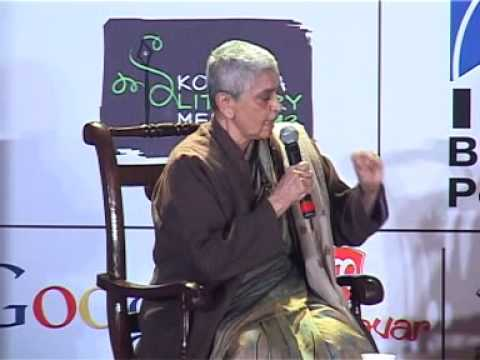Sunil Gangopadhyay Memorial Session - Kolkata Literary Meet 2013