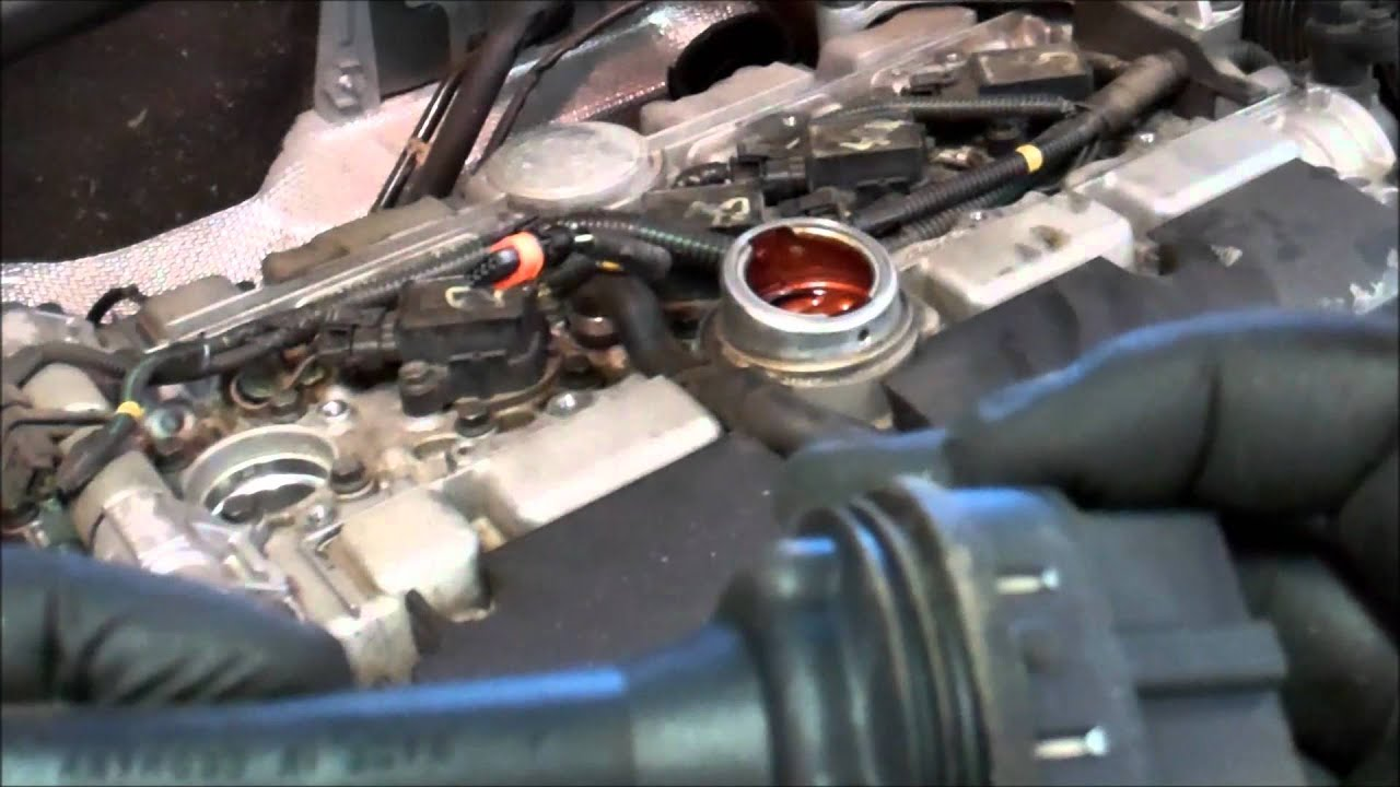 2004 Volvo XC90 2.5T Spark Plug Replacement - YouTube