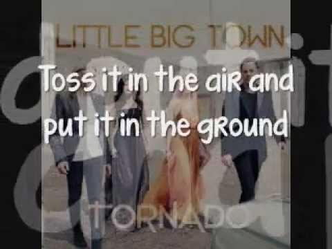 Little Big Town - Tornado [Lyrics On Screen]