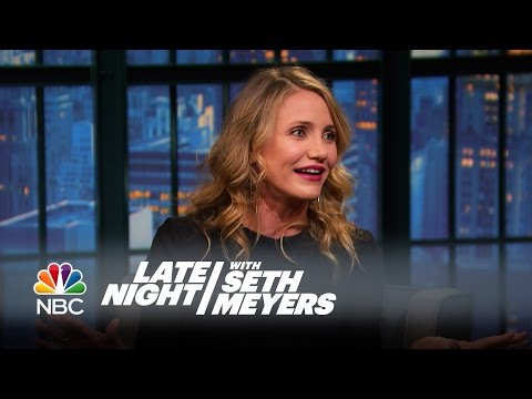 Cameron Diaz Loved Yelling at the Kids in Annie - Late Night with Seth Meyers