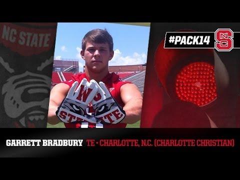 #PACK14: Garrett Bradbury - TE - Charlotte Christian School (NC)