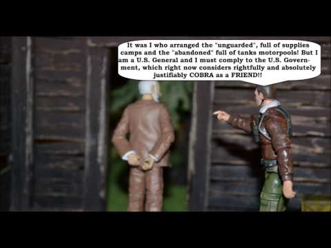 GI JOE DIORAMA STORY : COBRA ATTACKS EPISODE VI : The Meeting