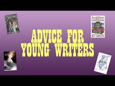 Ink Slinging: Advice for Young Writers